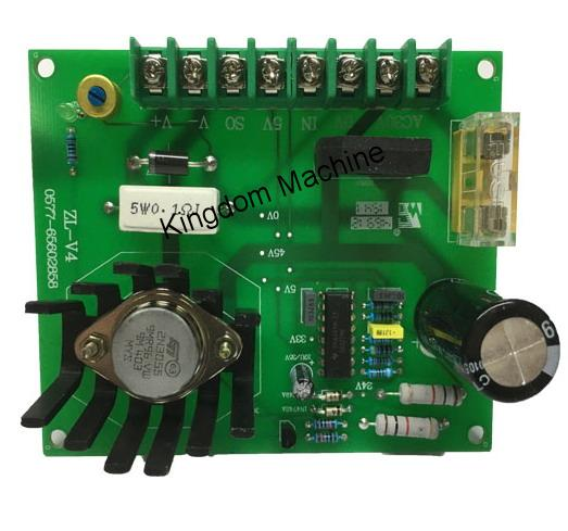 Tableau électrique de contrôle de tension pour sachet en plastique faisant la machine