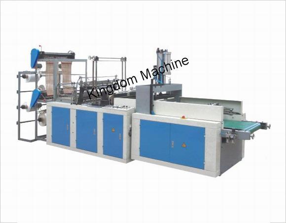Automatique Machine de Fabrication de Sachet Plastique à Bretelles