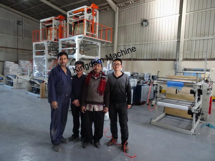 Installer des lignes de machines à sacs en plastique en Arabie Saoudite