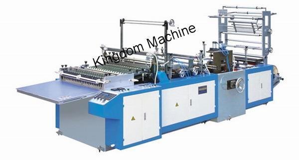 Machine de Fabrication de Sachet Plastique Brillant en Polypropylène (PP) Avec Rabat Adhésif