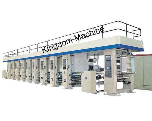 Machine d'impression à grande vitesse de rotogravure
