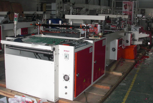 Plastic Patch Bag Machine
