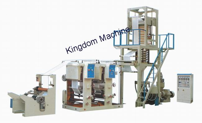 Film Blowing Machine with Gravure Printing Machine In Line