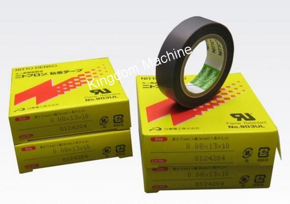 Japan nitto teflon tape for plastic bag machine